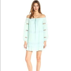 COPY - New Guess Off Shoulder Karena Fair Aqua Dr…